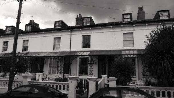 Netley Terrace Southsea 1860