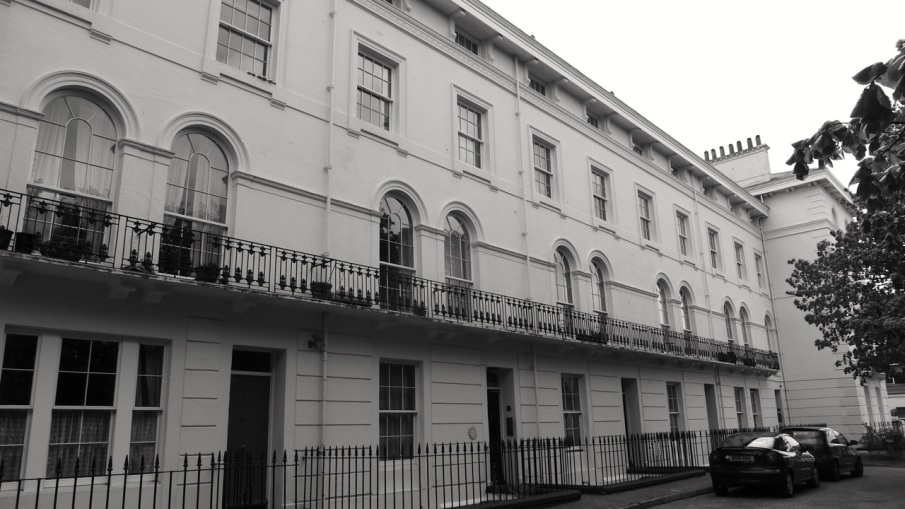 Portland Terrace (South) Southsea 1849 (Owen)