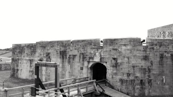 Southsea Castle Entrance 1544