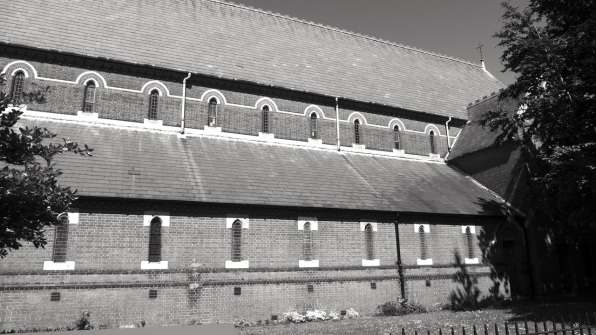 St Peters Church (South) Southsea 1882