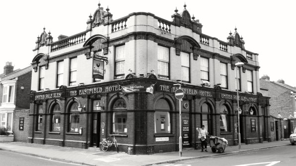 Eastfield Hotel (The Eastfield) Southsea 1906