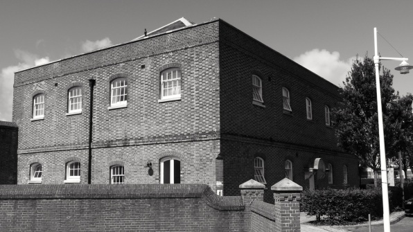 Infirmary House (South) Gunwharf Portsmouth 1814