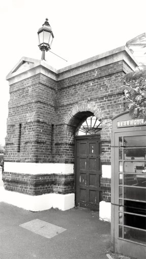 Main Gate Eastney Barracks 1862