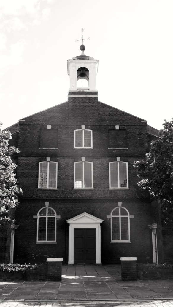 St George's Church Portsmouth 1754