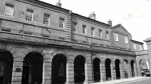 The Colonade, Eastney Barracks 1867