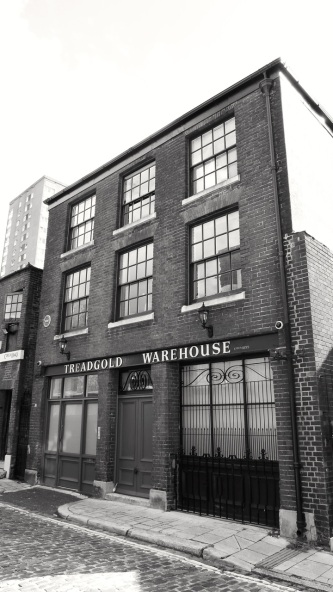 Treadgold Warehouse Bishop St Portsmouth 1850