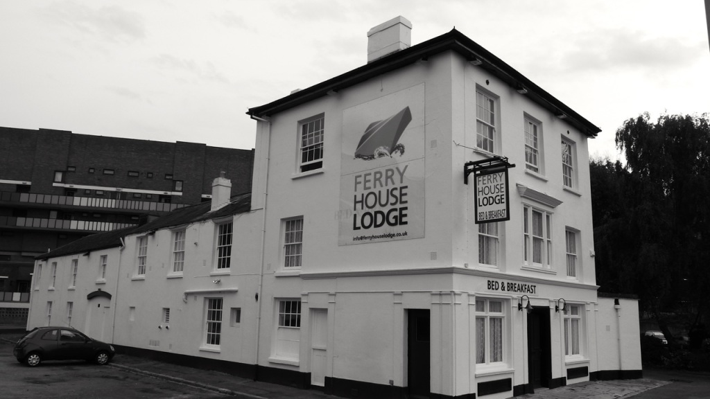 Ferry House Lodge (Market House Tavern) Mile End Road Portsmouth c1840