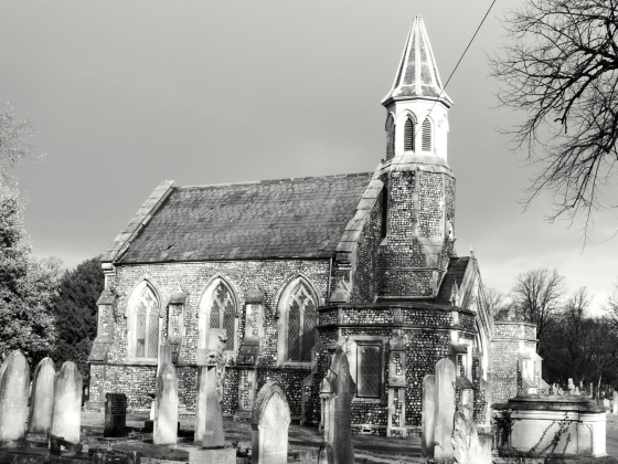Kingston Cemetery West Chapel Portsmouth 1858