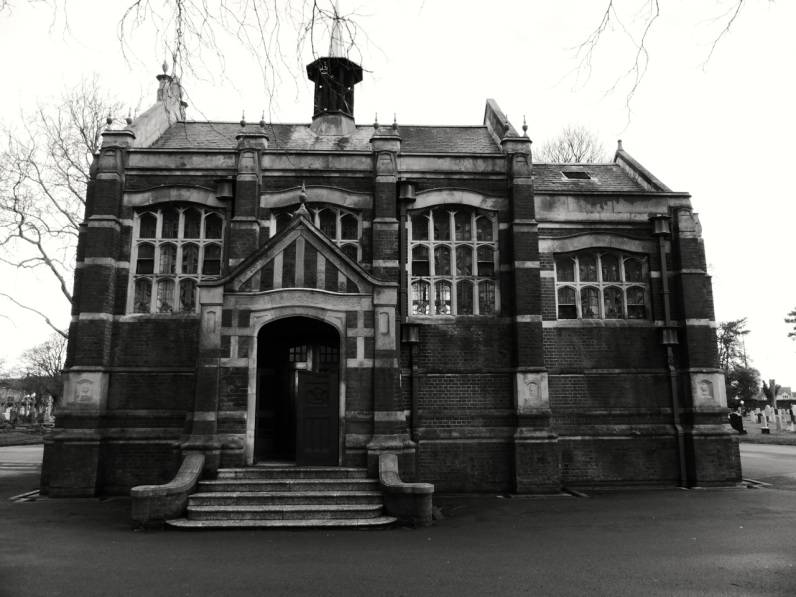 Milton Cemetery Chapel Portsmouth 1911