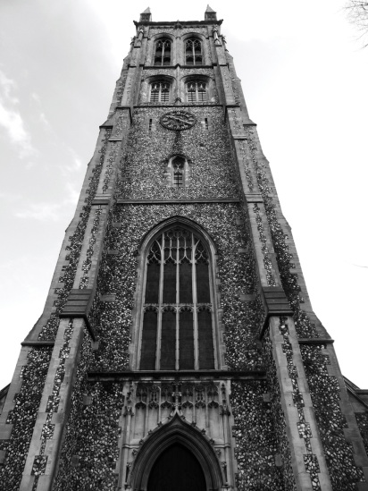 St Marys Church Tower Fratton Portsmouth 1889