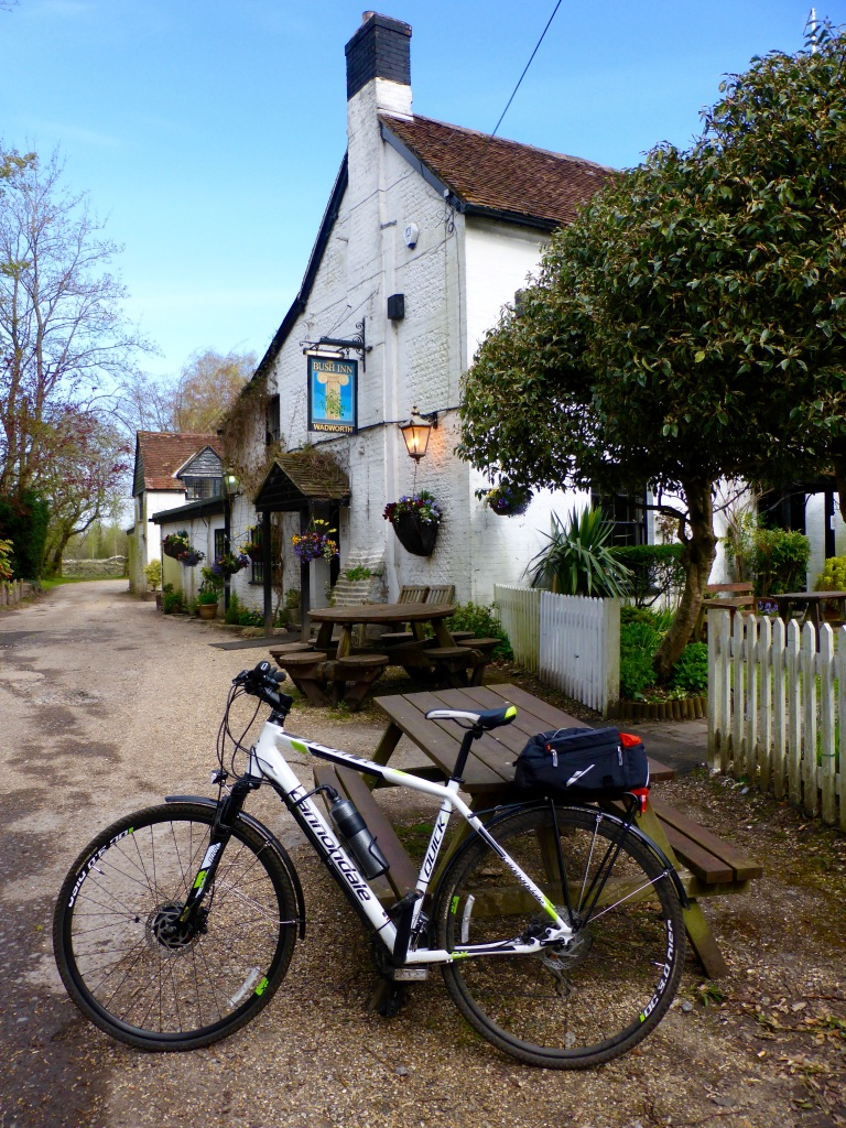 Cytronex Cannondale ebike at The Bush Inn