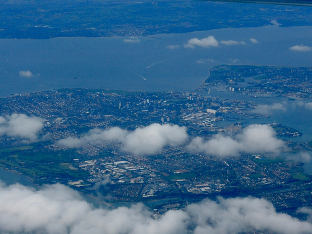 Portsmouth from the air