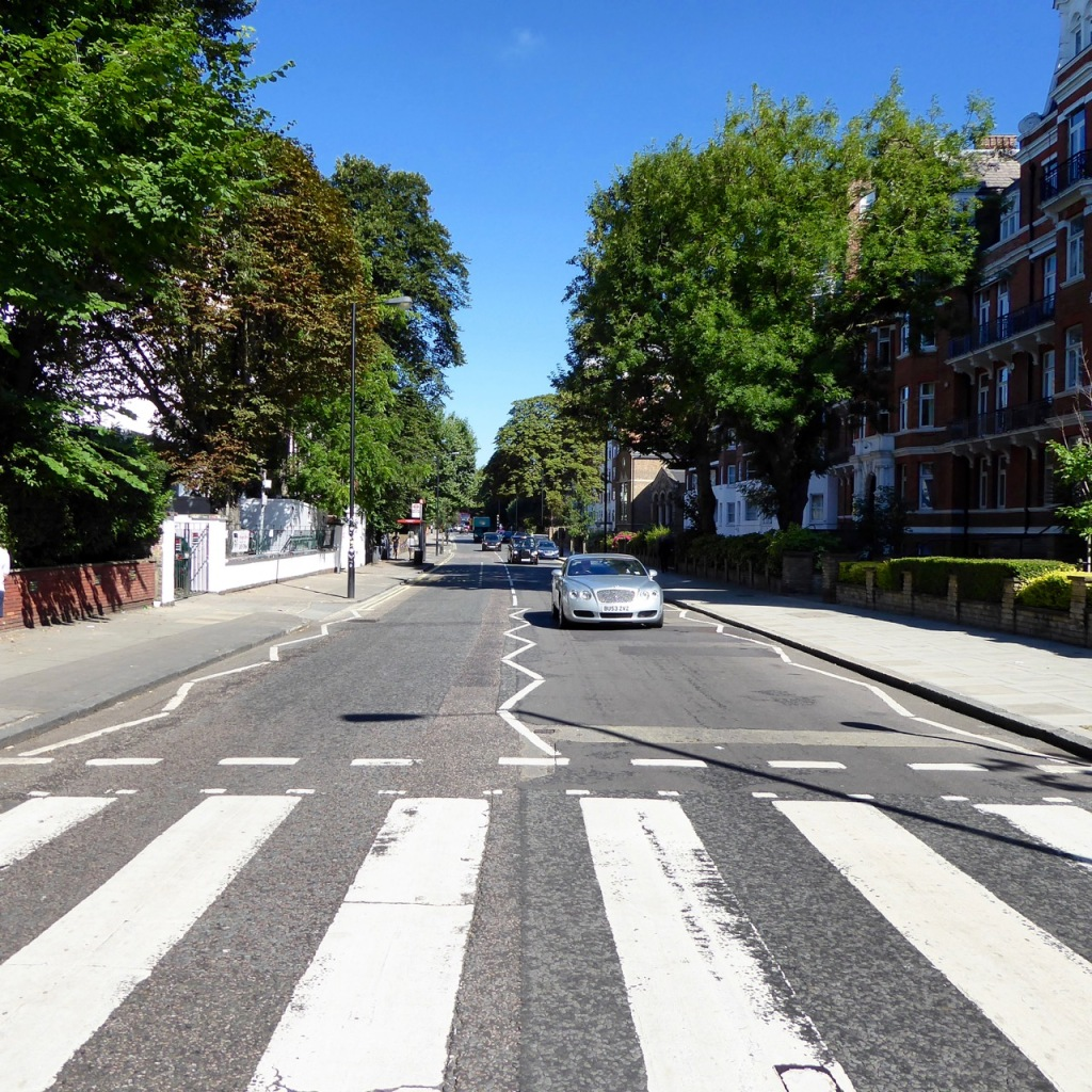 Abbey Road Zebra Crossing London