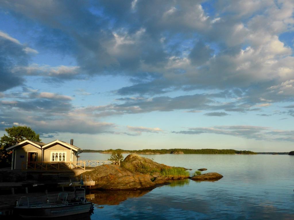 Sweden Sauna on Island