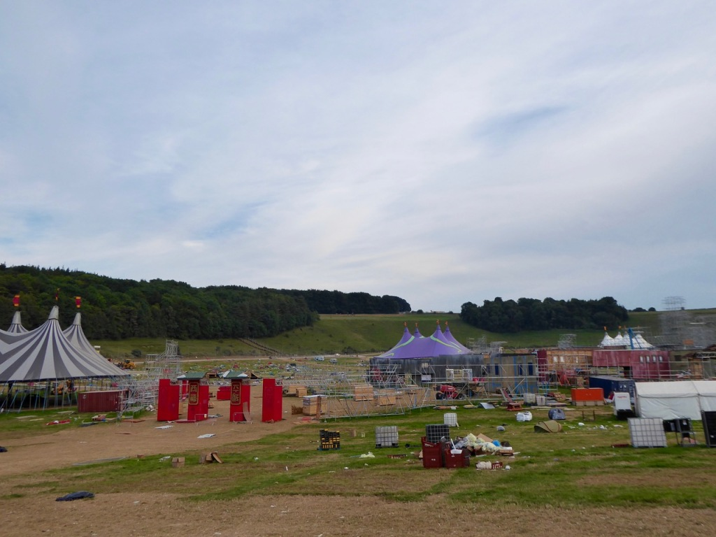 Festival clear-up, Boomtown