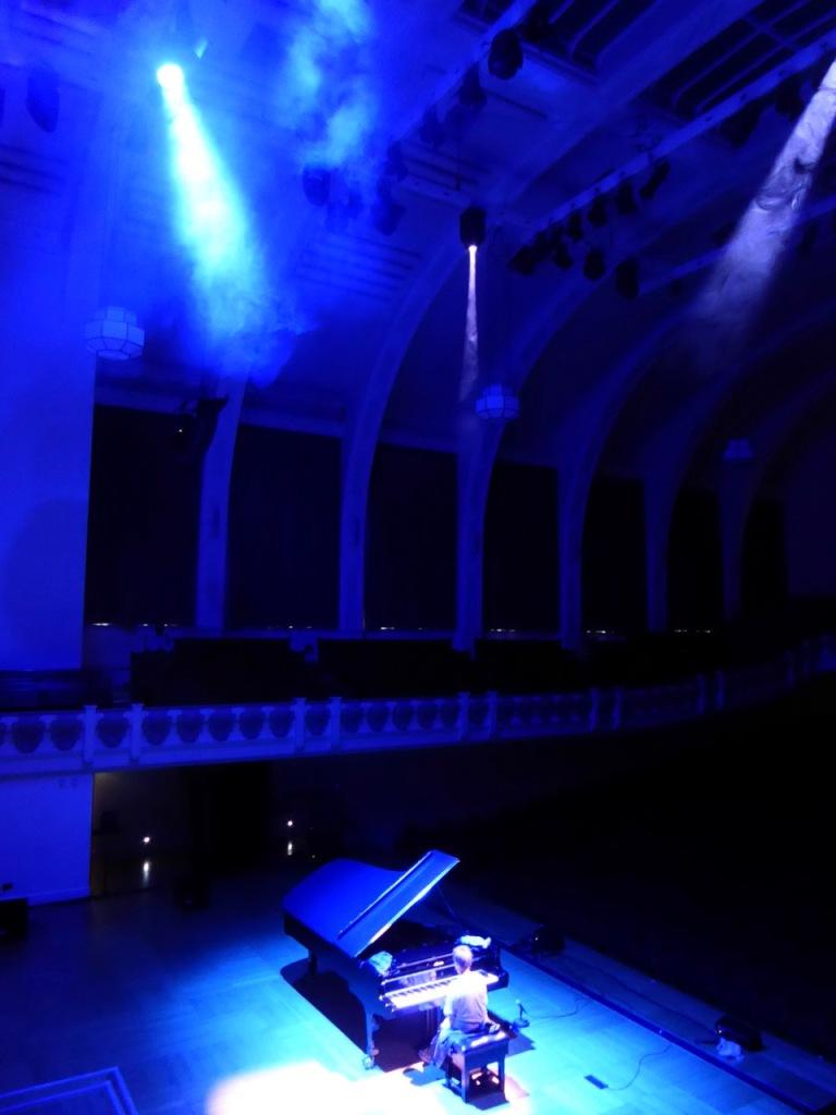 Maria Pires, Krishnamurti Concert warmup, Cadogan Hall