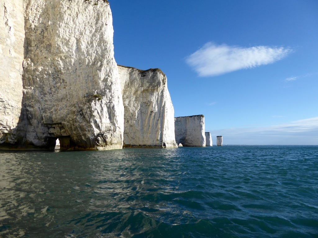 Parson's Chamber and Old Harry Rocks