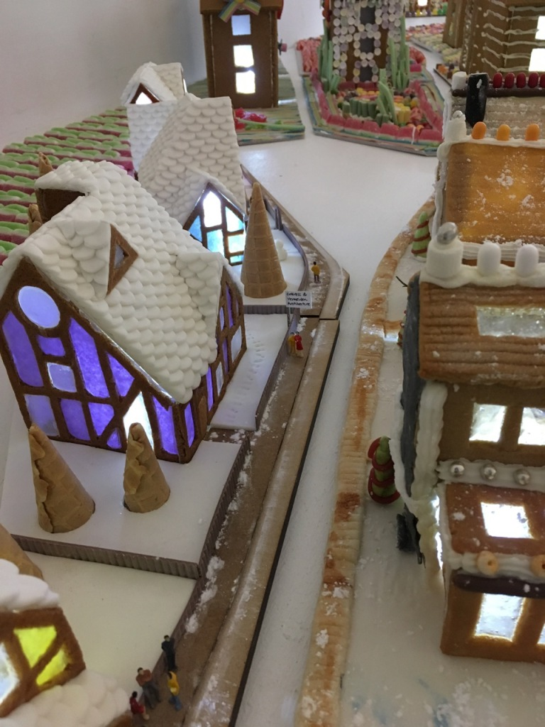 Architects' gingerbread houses